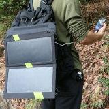 carregador Foldable do painel solar de Sunpower da eficiência 14W elevada