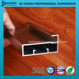 Le profil T5 en aluminium de l'extrusion 6063 pour la porte de guichet a personnalisé