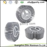De Uitdrijving Heatsink van het LEIDENE Aluminium van de Zonnebloem
