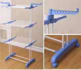 3 Tier Color Azul Plegable Lavandería Secadora Rack Jp-Cr300W