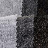Scrivere tra riga e riga fusibile non tessuto del poliestere punteggiato doppio degli indumenti per i vestiti