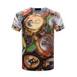 T-shirt occasionnel de chemise de circuit d'impression de la mode 3D d'été