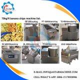 30-50kg/H de Spaanders die van de Banaan van de Weegbree van de Prijs van de fabriek Machines maken