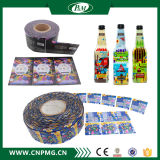 병 포장을%s 30-50mic PVC 수축 소매 레이블