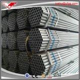 構築の使用法のための熱い浸されたGI管によって電流を通される鋼管