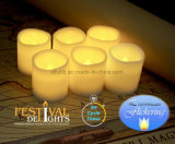 Пользовательский светодиодный индикатор для приготовления чая и лампа в форме свечи Flameless для украшения