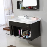 高品質の防水純木の浴室の虚栄心のキャビネット