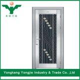 Portes d'oscillation en verre d'acier inoxydable