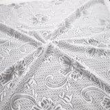Merletto del jacquard lavorato a maglia alta qualità