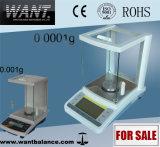 100g 0.1mgの高精度の化学工業の衛生検査隊のバランス