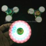 Hilandero de la mano de la persona agitada del metal de la aleación LED del cinc (6000E)