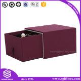 Роскошная Handmade кожаный деревянная коробка ювелирных изделий подарка