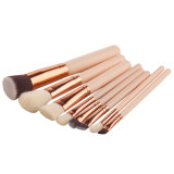 構成の美のツールの基礎余分柔らかいナイロン化粧品8PCSの一定の構成のブラシ