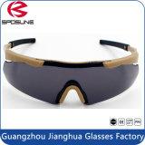 Óculos de tácticas militares de prescrição e óculos de sol, óculos de segurança resistente a produtos químicos