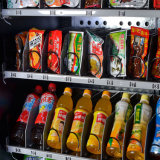 Distributeur automatique frit de puces avec le plein écran tactile