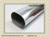 304 soldadas de aço inoxidável tubo oval plana