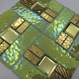 設計のための30×30は安い価格mixcolor研磨クリスタルガラスモザイクタイル