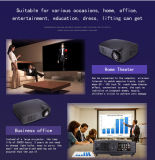Gesellschafterversammlungs-Projektor LCD-3D LED Projector Home Theatre Company mit Nizza Preis