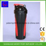 A segurança alimentar de proteínas de plástico Joyshaker garrafa de água