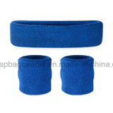 Promotie Sport Terry Cotton Headband Sweatband Sets