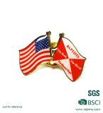 Pin della bandierina dei UAE di stampa in offset per il prezzo poco costoso