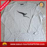 Precio largo interno de la camiseta del sueño de la funda del algodón
