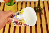 Tazze di tè colorate disegno originale all'ingrosso poco costoso di ceramica, tazze di tè poco costose nere