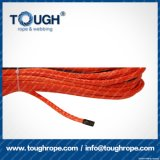 Fibra 100% resistente de Uhwmpe da corda da corda sintética do guincho Orange11.5mmx30m4X4