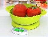 디지털 음식을%s 전자 무게를 다는 부엌 사발 가늠자
