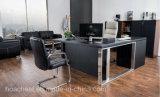 가죽 (AT023A)를 가진 높은 좋은 품질 행정실 책상