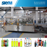 炭酸清涼飲料の満ちる生産ライン