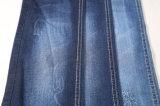 tessuto del denim di stirata del cotone della saia del ringrosso 9.9oz