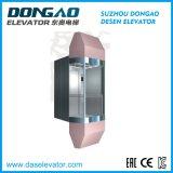 Elevador Sightseeing de vidro de /Obsevation