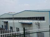 Edificio ligero prefabricado o almacén de la estructura de acero de la alta calidad