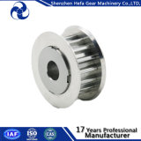 Aluminiumzahnriemen-Riemenscheibe CNC-Typ h-Riemenscheibe im Stahl