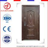 Solo producto moderno de la puerta de la seguridad del hierro labrado en China