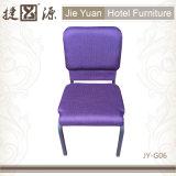 教会椅子(JY-G06)をスタックする商業金属の家具
