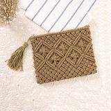 2017 mais recente Design Cotton Material de tecido Wallet Handmade Design Purse bordado Embreagem T111