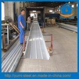 Liga de alumínio cheio de metal do sistema de telhado zipado folhas do tejadilho