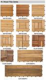 Azulejo para pavimento exterior de madeira maciça