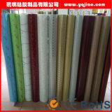 높은 광택 있는 PVC 박층으로 이루어지는 필름 또는 필름을 누르는 막 압박 필름 또는 진공