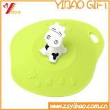 Couvercle anti-calorique animal mignon Customed (YB-HR-150) de cuvette de silicones de qualité