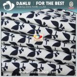 Tecido de poplino elástico com impressão para camisa