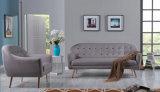 Sofá Home moderno novo da tela do hotel da mobília da sala de visitas ajustado (HC089)