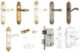 Edelstahl-doppelter Schrauben-Tür-Verschluss für Innenraum