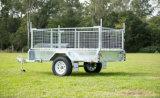 El año 2017 Cuadro de inclinación de galvanizado totalmente soldado remolque con jaula para el mercado de Australia