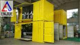 Передвижной весить типа и кладя в мешки блок с контейнером