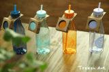 650 мл небьющийся бутылка воды Портативный спортивный расширительного бачка с помощью пластикового колпака соломы