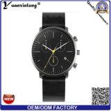 Yxl-339 Moda assistir de boa qualidade Quartz Mens Leather Vogue relógio de pulso Design Personalizado por grosso relógios de homens de negócios