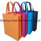 Kundenspezifisches Firmenzeichen-buntes Polypropylen-nichtgewebtes Gewebe 100% für Einkaufstasche